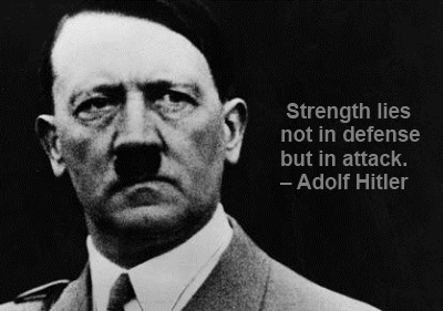 In an essay, how can I cite a quote of Adolf Hilter? Where are his quotes located?