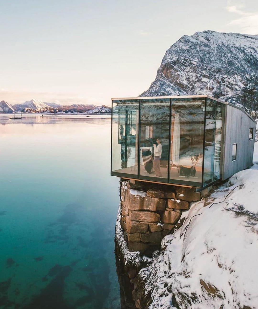 Nordic Bathroomdesign: Manshausen Sland Resort Designed By Stinessen Arkitektur