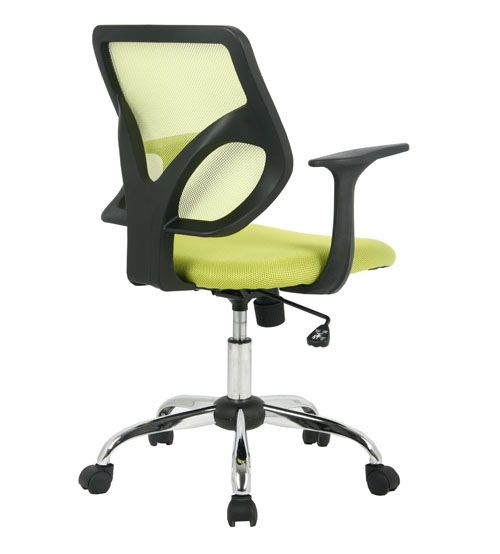 VIVA OFFICE® Mid Back Office Chair, Mesh Computer Chair, Multi Colored