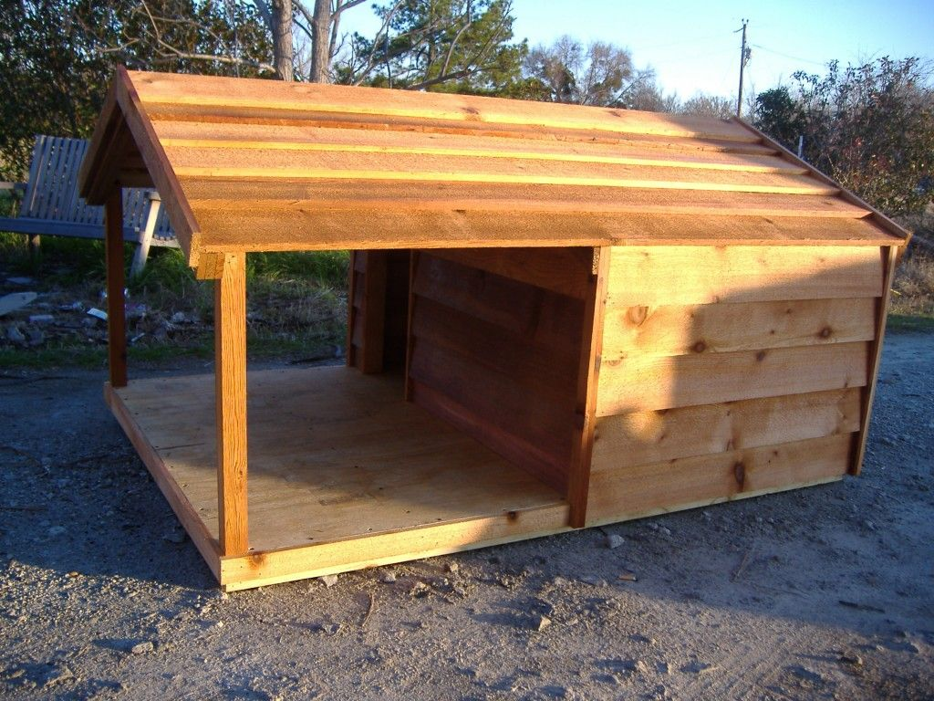 pallet dog house instructions