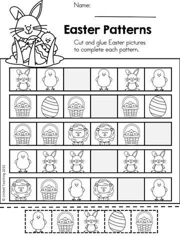Easter Math Worksheets Kindergarten Distance Learning Easter Math Kindergarten Kindergarten Math Worksheets Easter Kindergarten