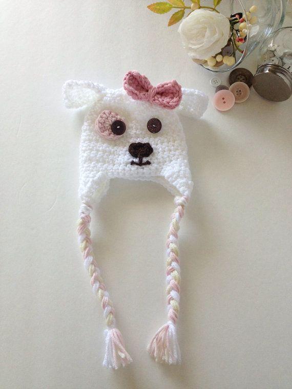 Sombrero del cachorro recién nacido. Crochet el por CallMeCraftie ...