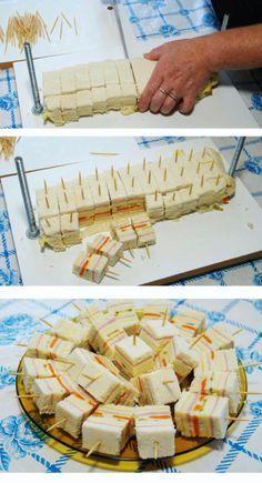 Prensa Sanduiche Para Fazer Deliciosos Mini Sanduiches Comidas Em