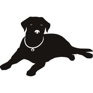 Free Clipart. Lab Dog Silhouette Our Labrador Retriever ...