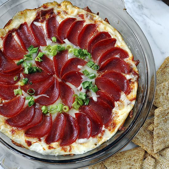 Pepperoni Pizza Dip A Last Minute Super Bowl Idea Receita