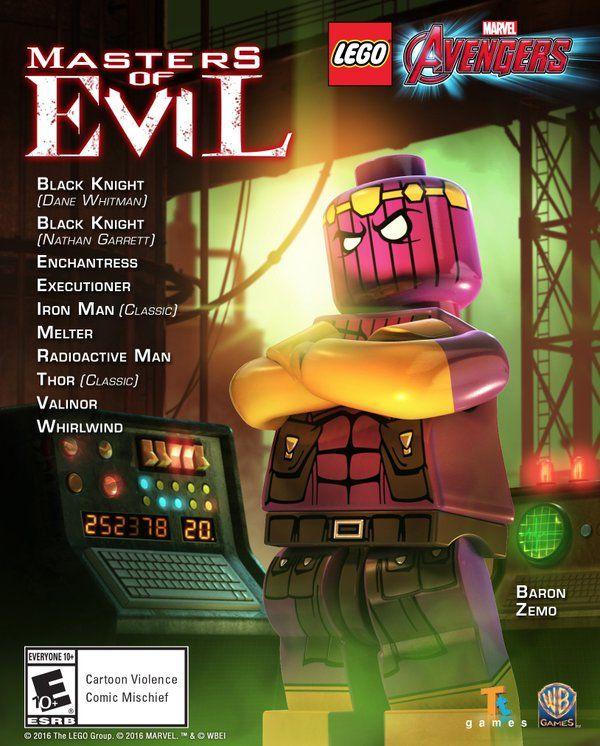 Masters Of Evil – LEGO Marvel Avengers Gameplay | Legos | Lego