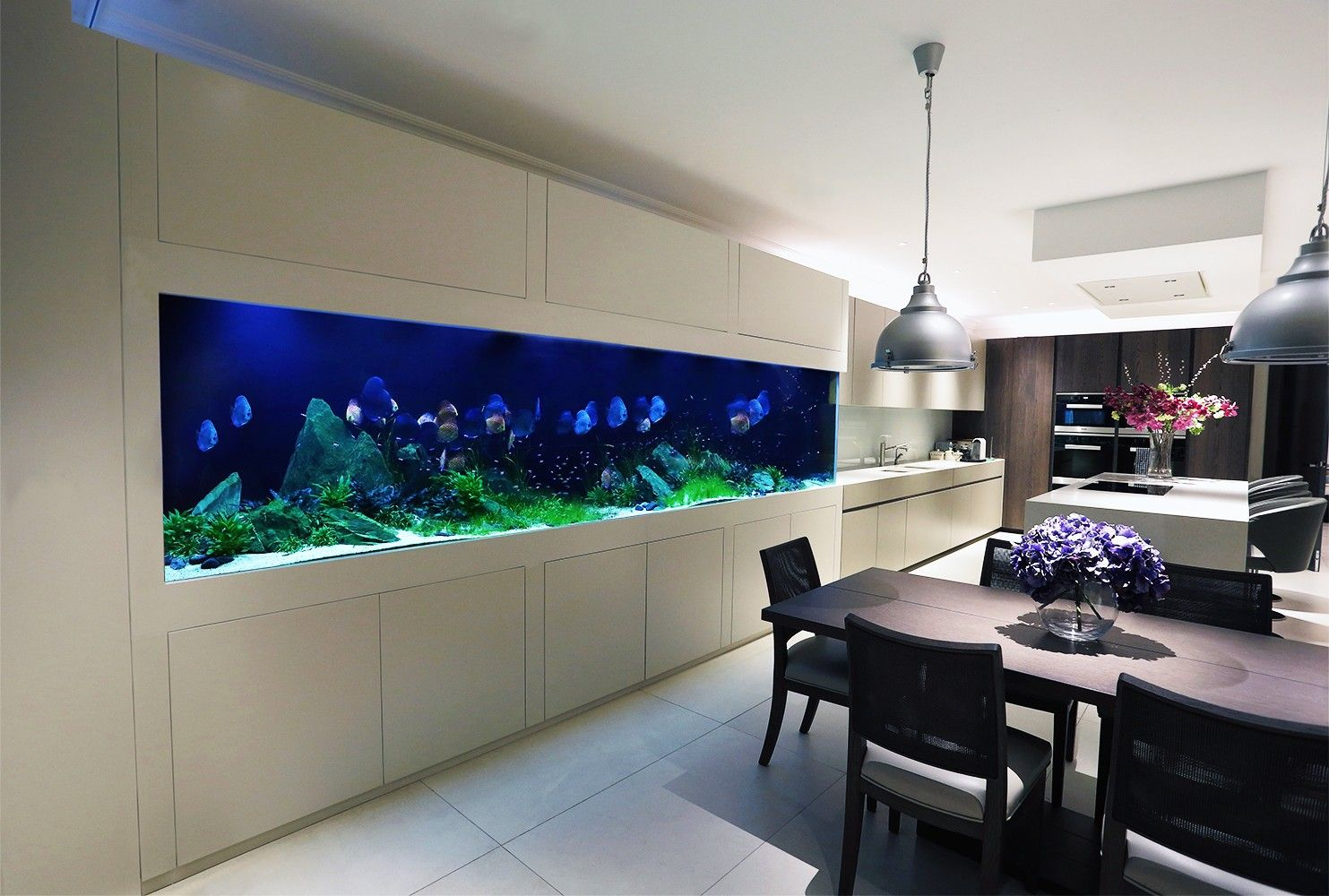 transforming kitchen cabinets transform the way your home looks using a fish tank 2912