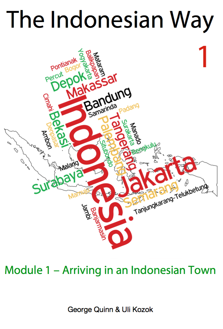 A Beginner Level Textbook For The Indonesian Language The