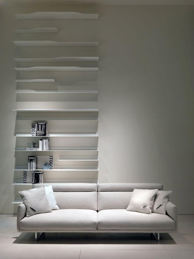 Room Showcase Designs Recommended Mdf Living: Minimalist. White. Living Space. Room. Sofa