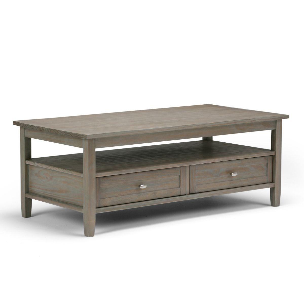 Simpli Home Burbank Coffee Table Reviews Furniture Macy S Rectangle Coffee Table Wood Coffee Table With Drawers Coffee Table Wood [ 1200 x 1200 Pixel ]
