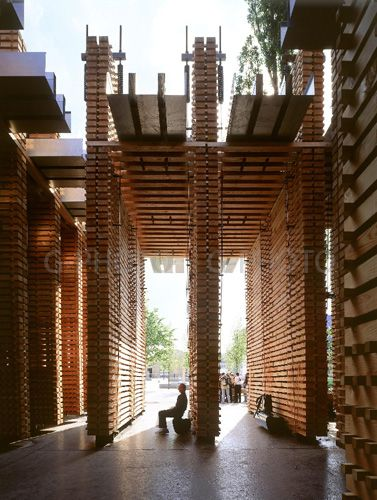 peter zumthor / swiss sound box パビリオン建築、ピーターズントー、建築
