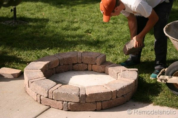 Diy Rumblestone Seat Wall And Fire Pit Kit Installation Outdoor Fire Pit Seating Outdoor Fire Pit Kits Fire Pit