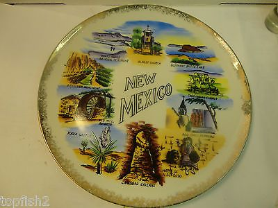 """New Mexico Souvenir Plate, 10 1/8"""" Diameter (Used/EUC) for USD18.99 #Collectibles #Decorative #Collectibles #Diameter Like the New Mexico Souvenir Plate, 10 1/8"""" Diameter (Used/EUC)? Get it at USD18.99!"""