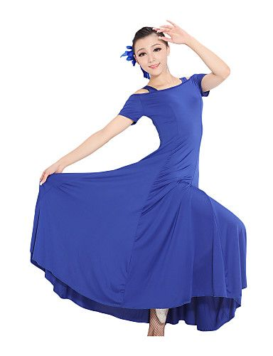 SGC14GN  Ballroom Latin Rhythm Salsa Swing Dance Dress Top Skirt Set