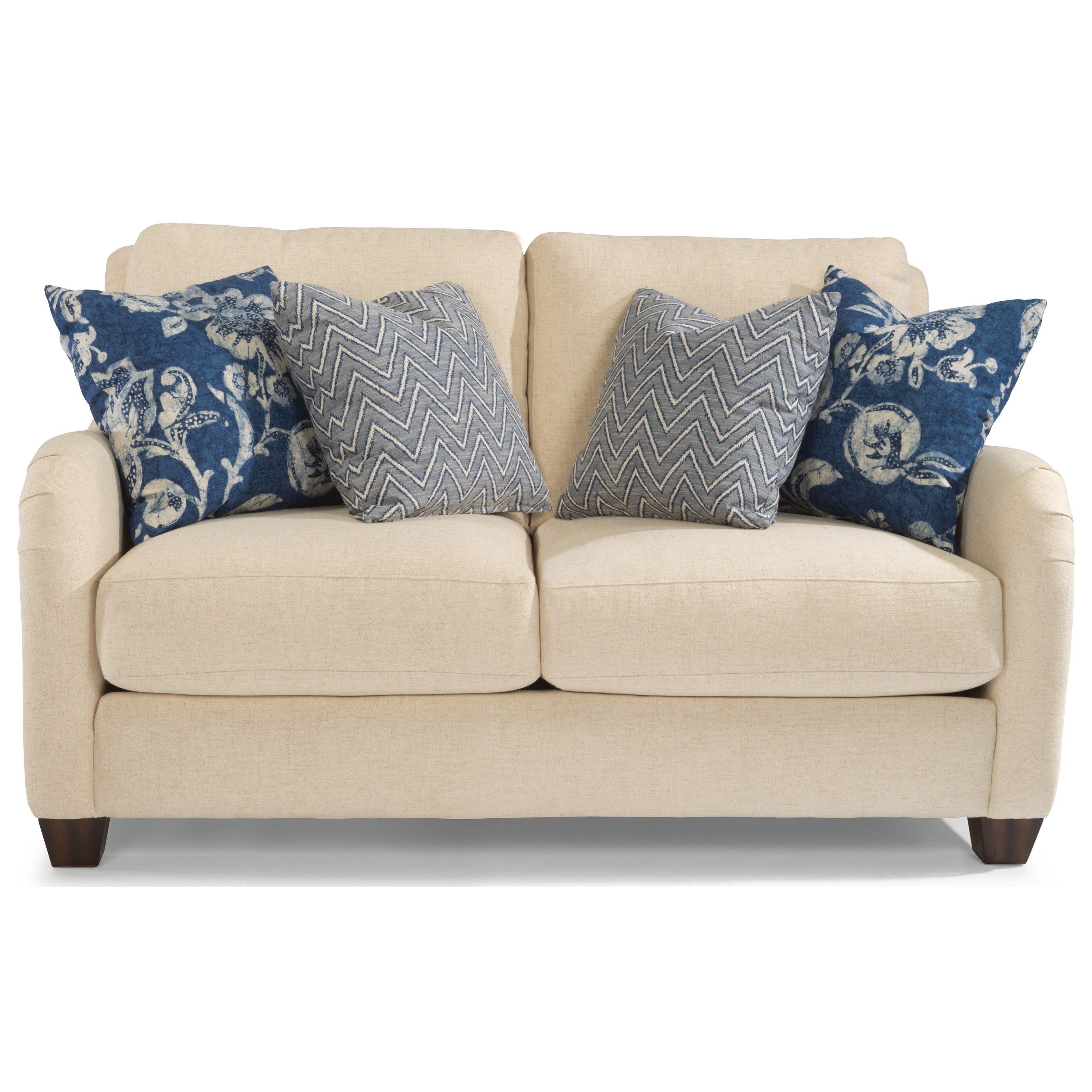 fortuna loveseat by flexsteel couch pinterest furniture