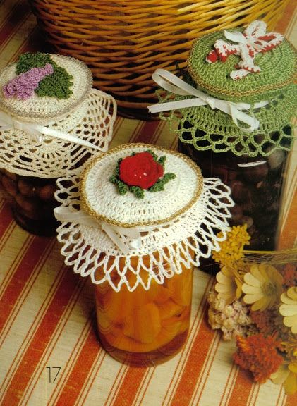 Crochet Jar Covers and Crochet doll dresses - diamondinapril - Picasa-Webalben