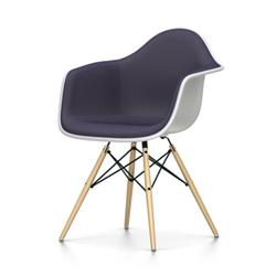 VITRA chaise fauteuil avec rembourrage total Eames Plastic