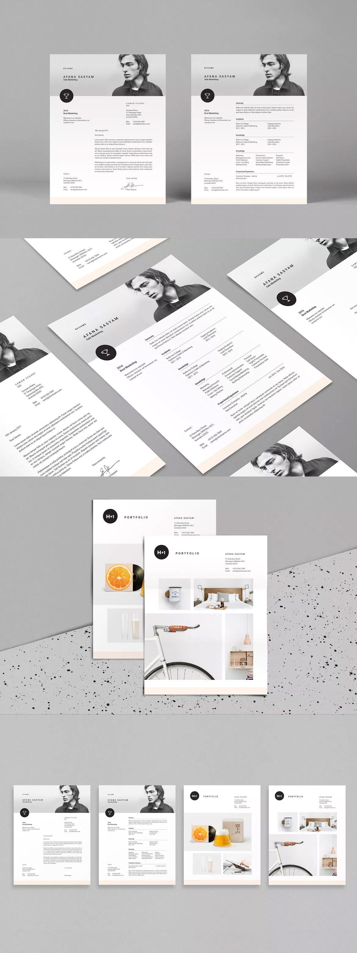 Resume Template INDD | Resume Templates | Pinterest | Template