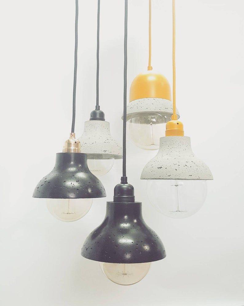 Pin Auf Beton Lampe