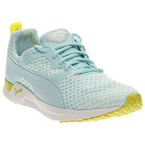 PUMA Womens Pulse XT Knit Womens Training Shoe Clearwater/Sulphur 10 B US  For Sale
