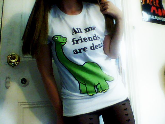 Urban Outfitters Ripple Junxion All My Friends Are Dead Dinosaur T