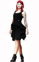 Spin Doctor Black Departed Dress - £43