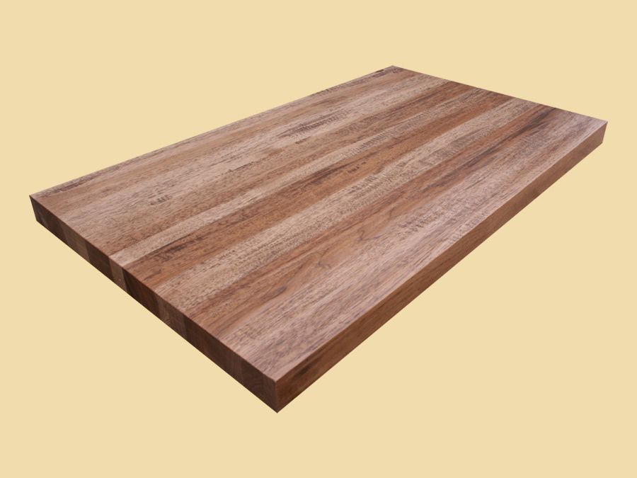 Hand Scraped Autumn Hickory Butcher Block Countertop If You See