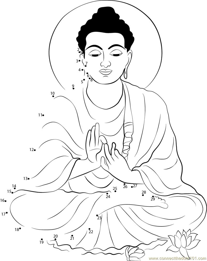 Buddha Purnima Connect the Dots