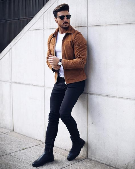 48 Winter Outfit Street Style for Men Trend 2019 #men'sfashion