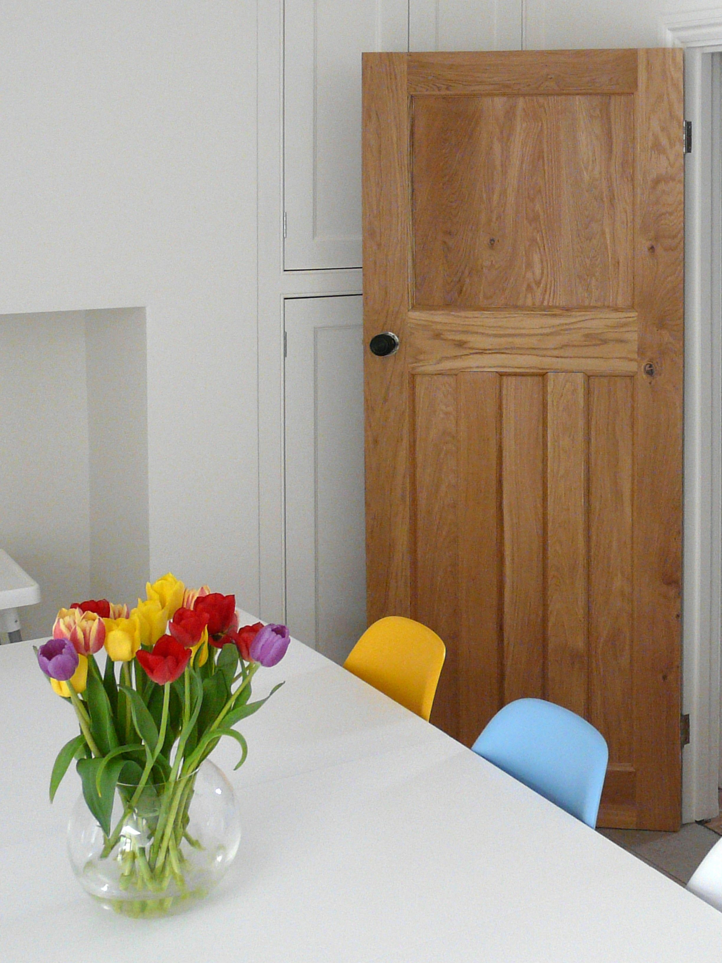 Solid Oak 1930s Style Door Solid Oak Doors Oak Doors Internal Doors