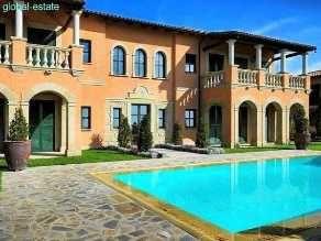 Immobilien Zypern Villa Limassol Haus Kaufen 1. Meereslinie, Meerblick,  Luxus Villa: 743qm