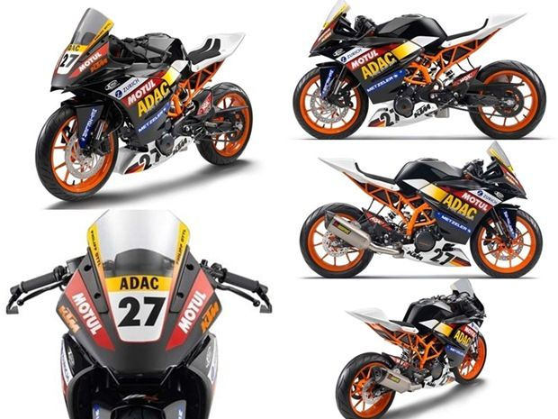 2014 Ktm Rc390 In Race Trim Unveiled Ktm Motorcycles Duke