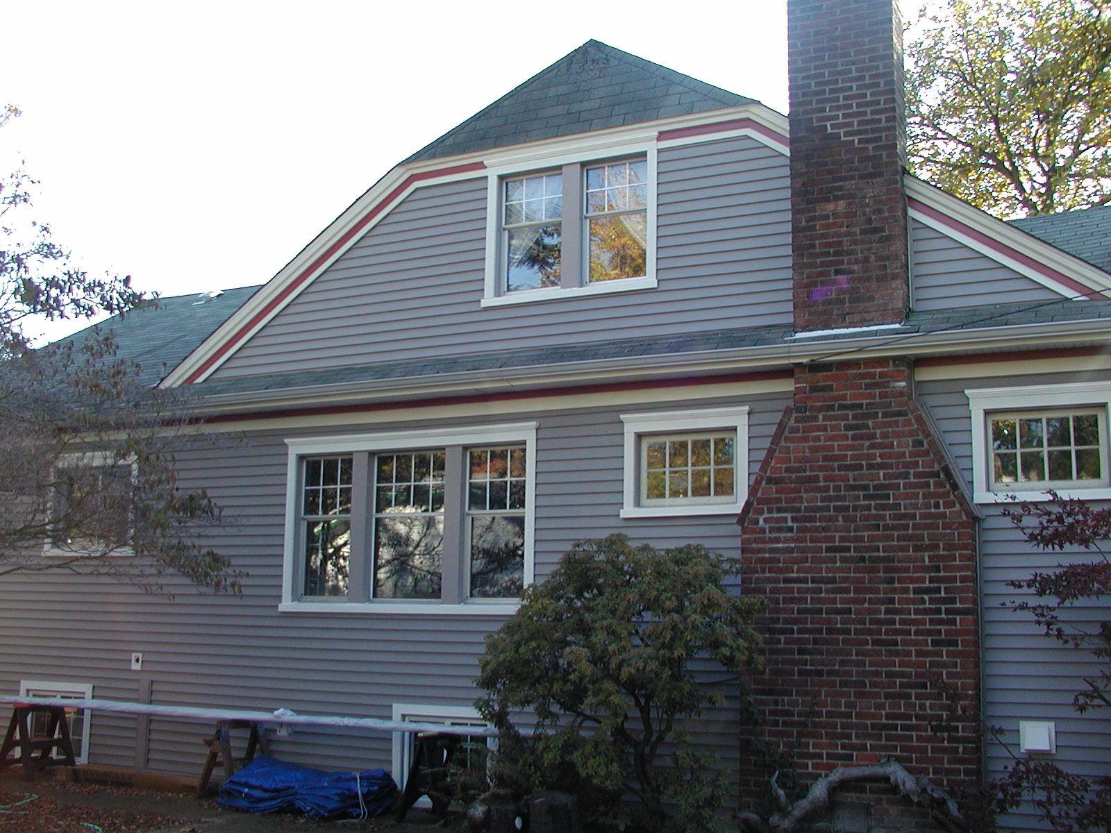 Certainteed Granite Gray Exterior House Renovation Grey Siding House Exterior
