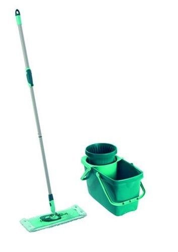 Leifheit Clean Twist Spin Mop System With Bucket And Flat Mop Head Blue Products Spin Mop Cleaning Mop Heads