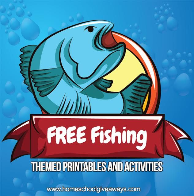 Free Fishing Themed Printables And Activities Fishing Theme Fishing Birthday Party Fishing Theme Birthday