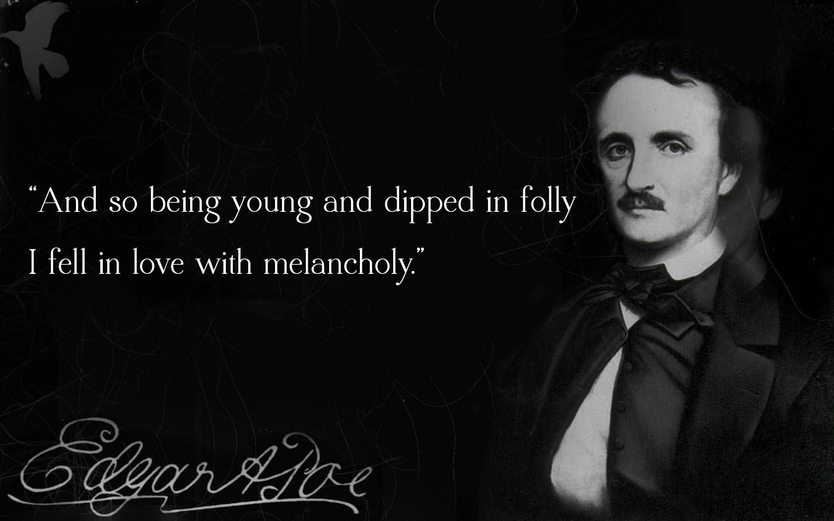 Edgar Allan Poe Love Quotes Edgar Allan Poe  Quotes  Pinterest  A Love A Child And He Is