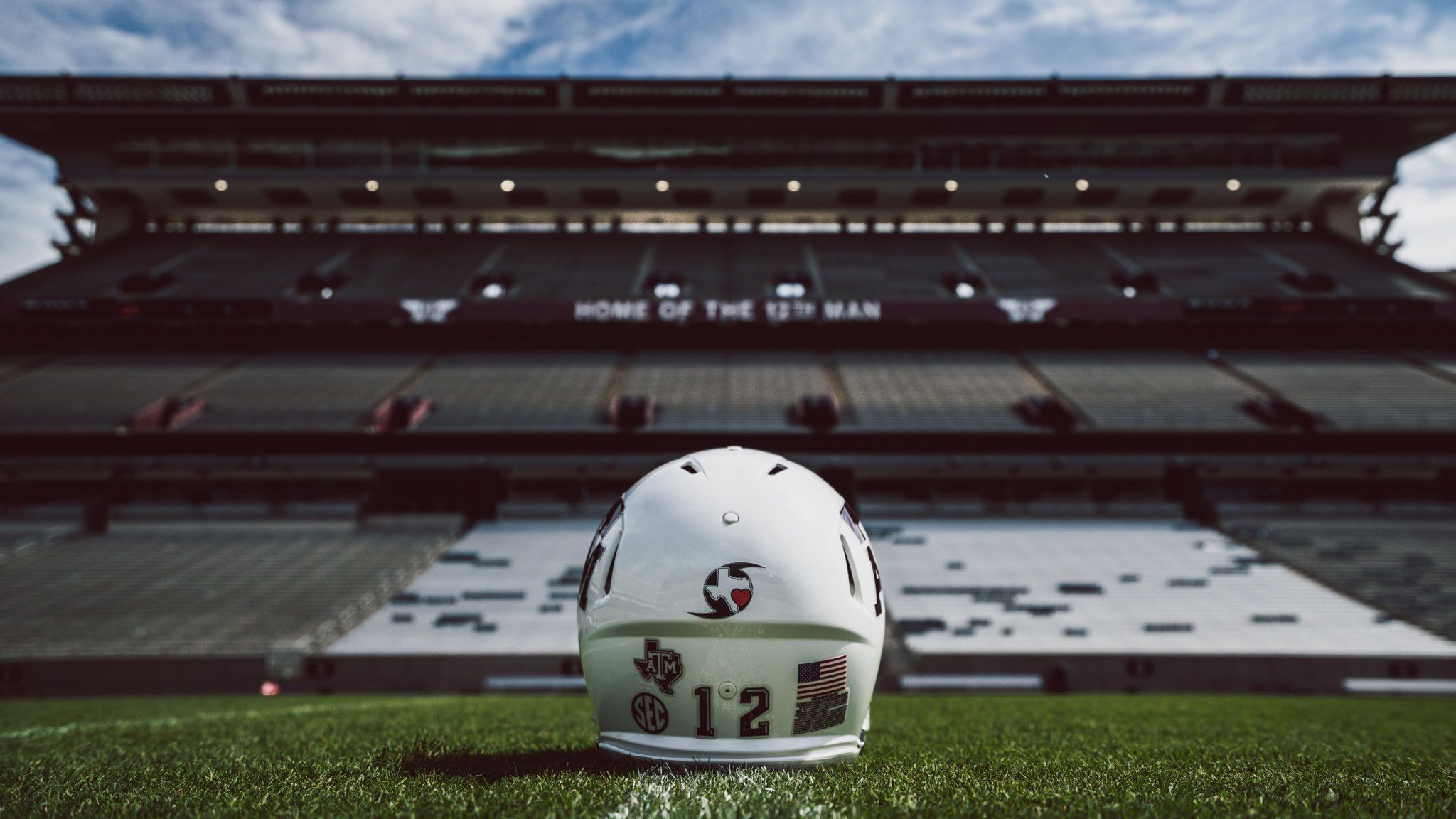 Texas A M Aggies Football To Wear This On Their Helmets To Start The
