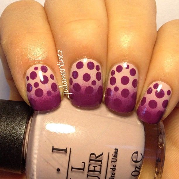 Purple dotticure!