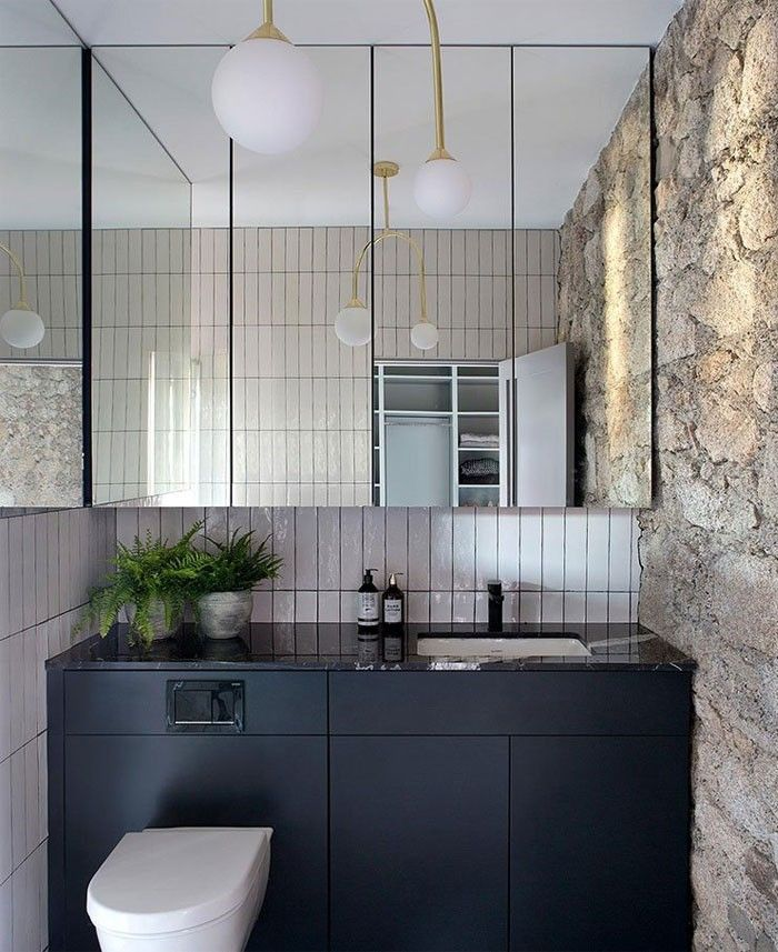 Pin By InteriorZine On Bathrooms In 2020