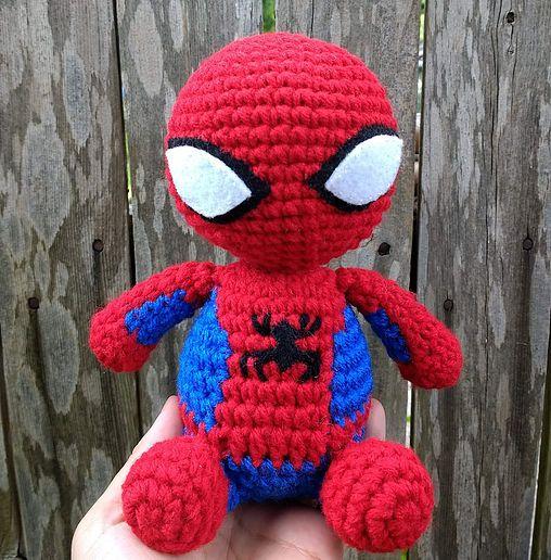 loopyyarn | Spider-Man | Crochet Amigurumi | Spiderman ...
