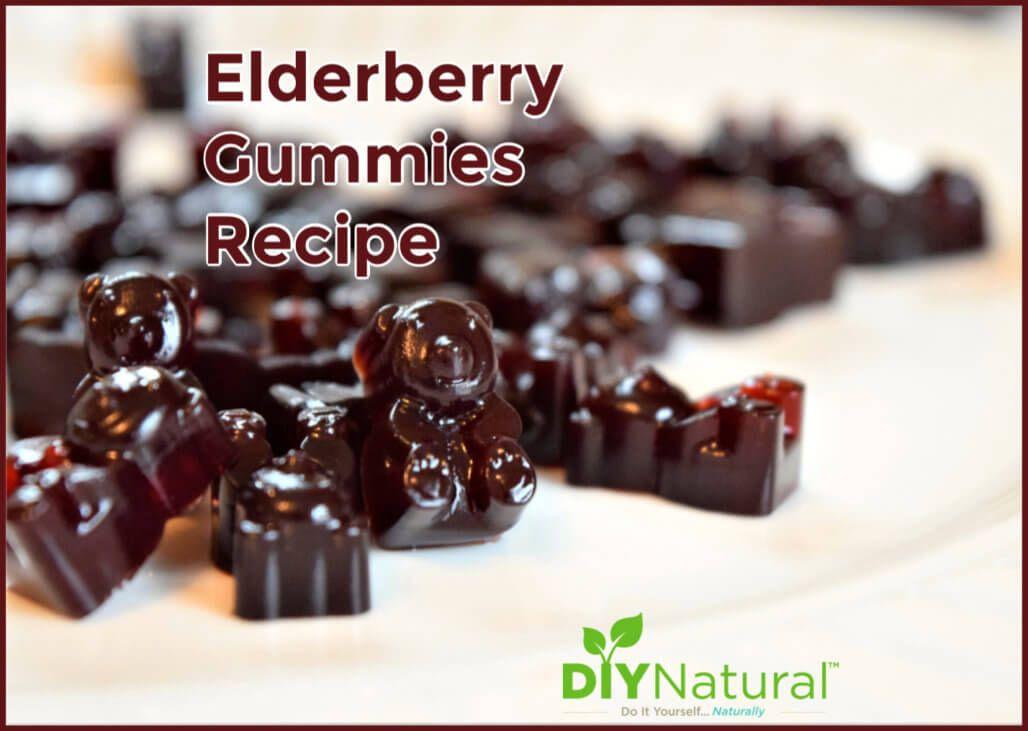 Elderberry gummies delicious immuneboosting recipe