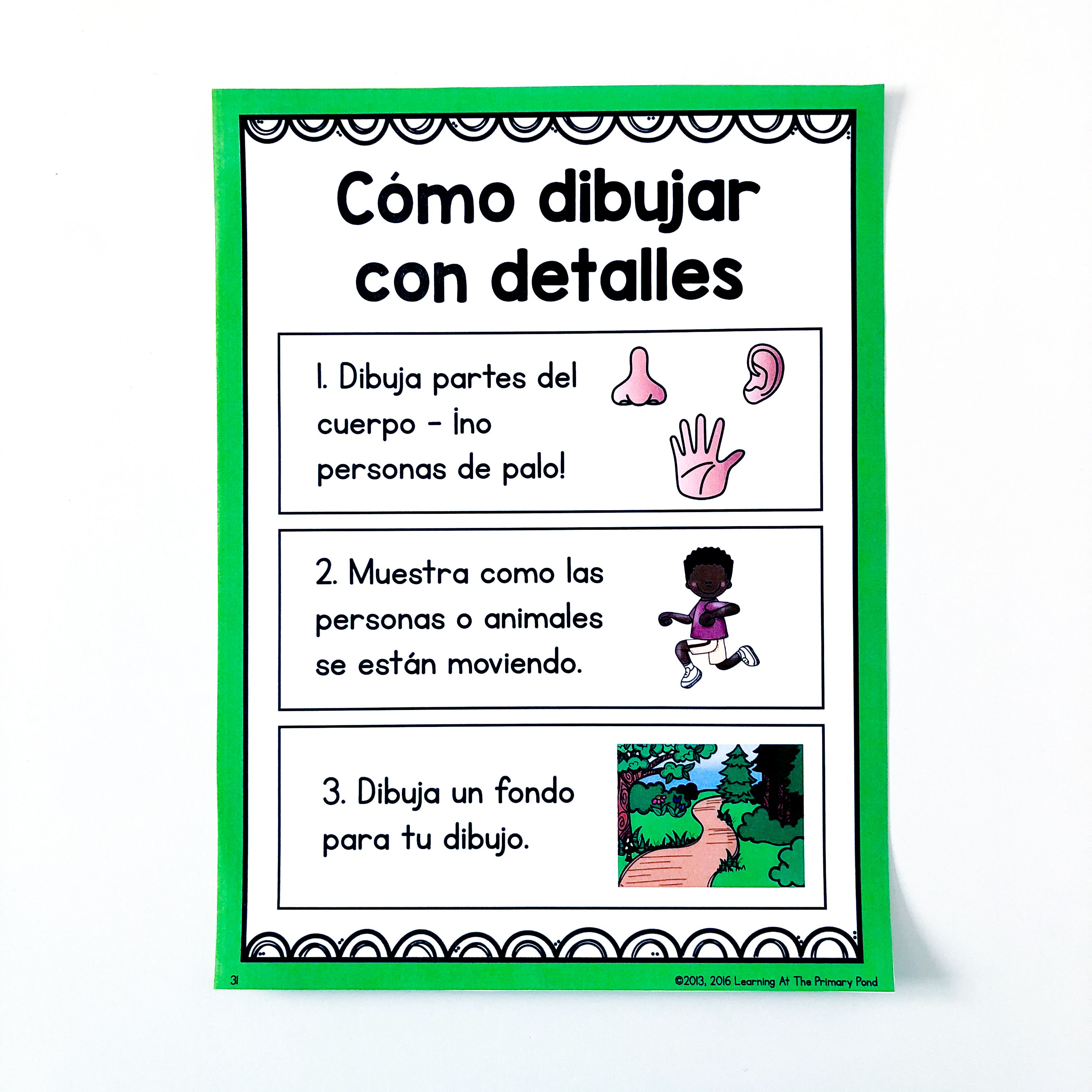 I Use This Poster To Teach My Bilingual Kindergarten