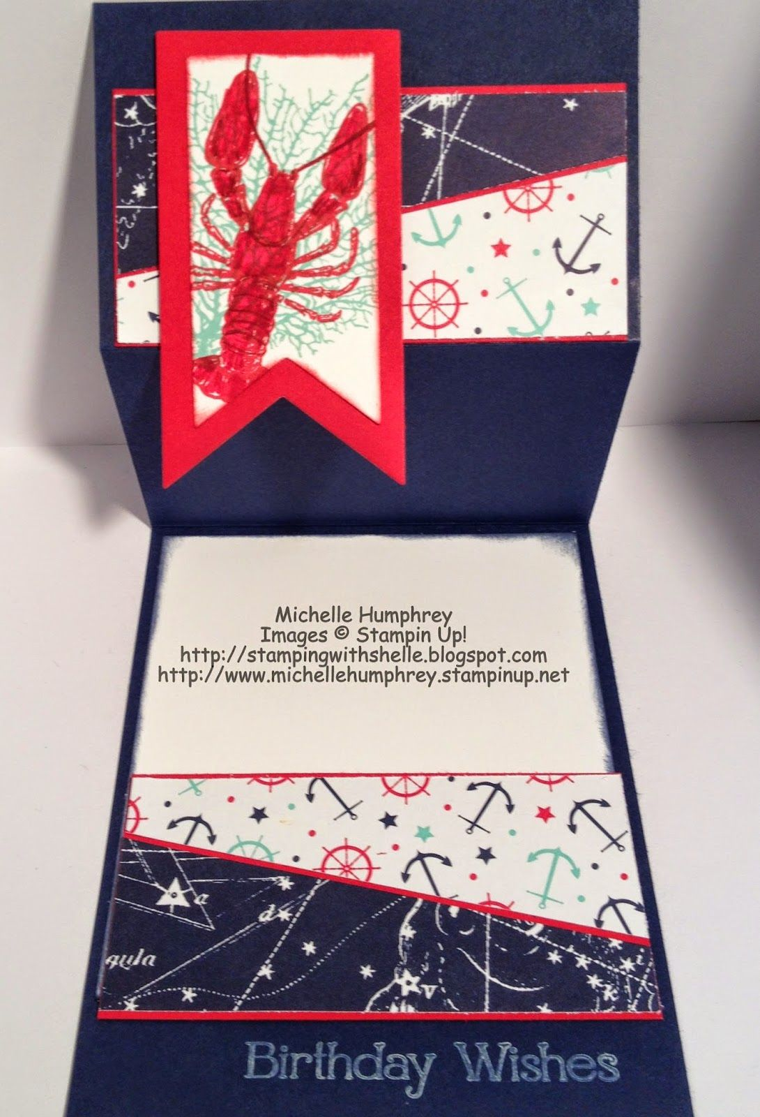 Stampin Up Maritime Paper Projects Stampin Up Products