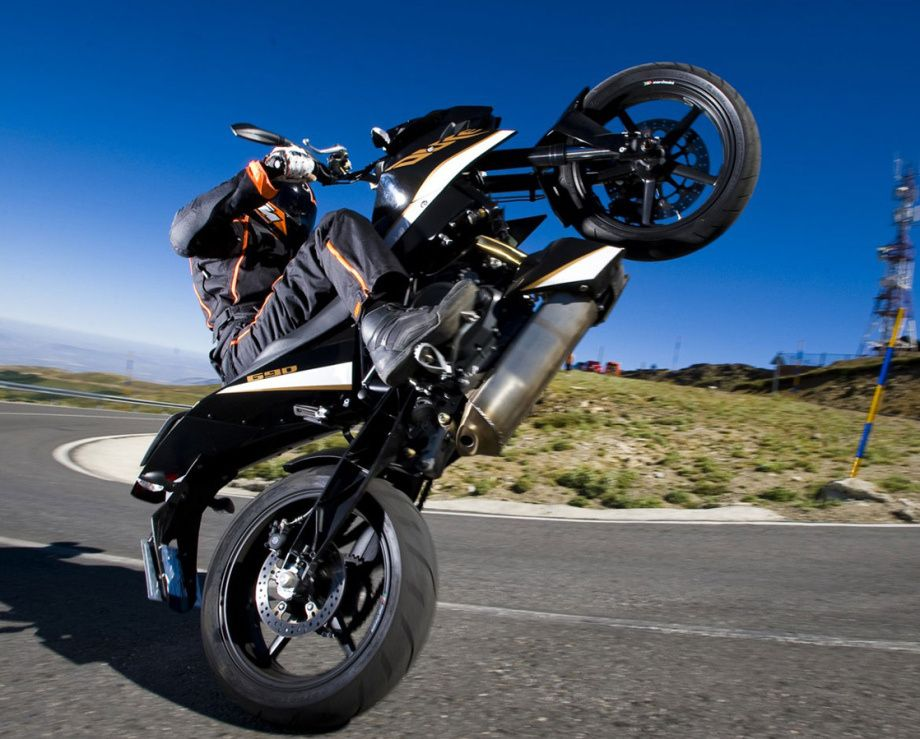 Stand Up Wheelie With Images Ktm Ktm 690 Motorcycle