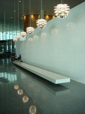 ph artichoke l& commercial t&a airport & ph artichoke lamp commercial tampa airport | architecture and design ...