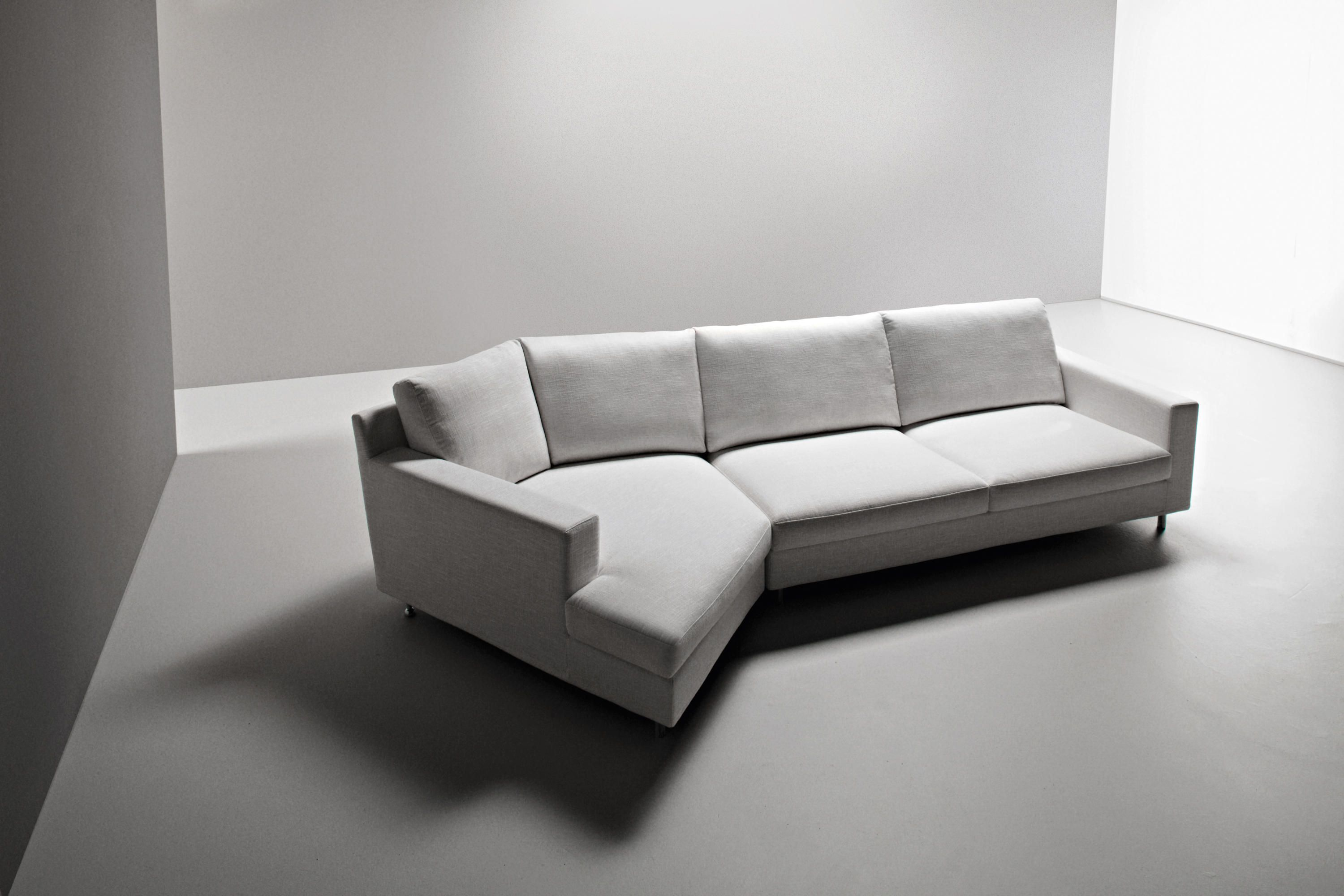White Curved Sofa Modern Sectional White Leather Sofa Living