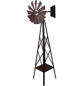 High Quality Windmill Metal Garden Ornament Iron Sculpture Big Large *161cm*