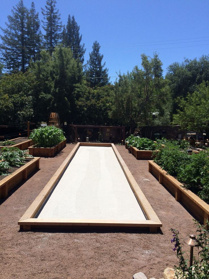Residential bocce ball courts designed and constructed by ...