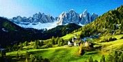 Nature Oil Paintings Landscapes by Margaret J Rocha   Landscape nature fineart painting for sale.