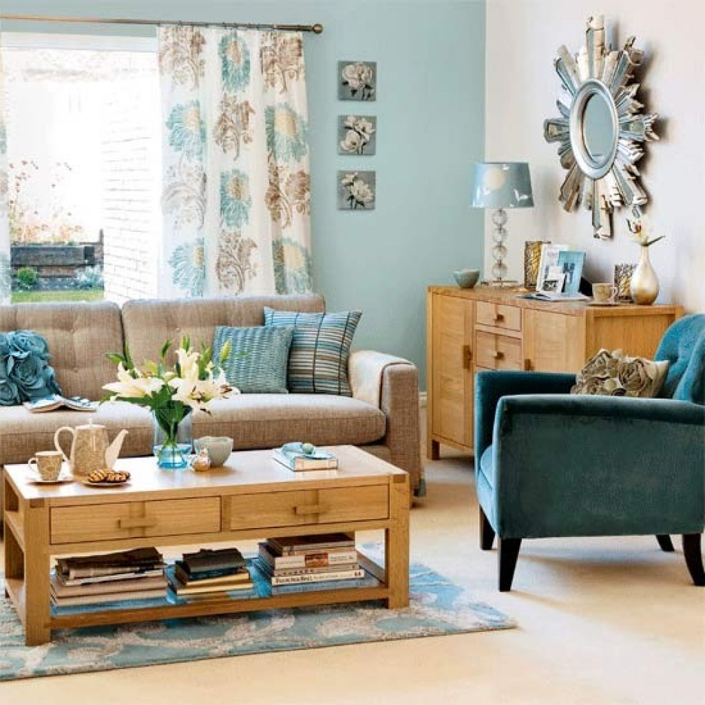 Brown and blue living room - 10 Best Images About Living Room Ideas On Grey Walls
